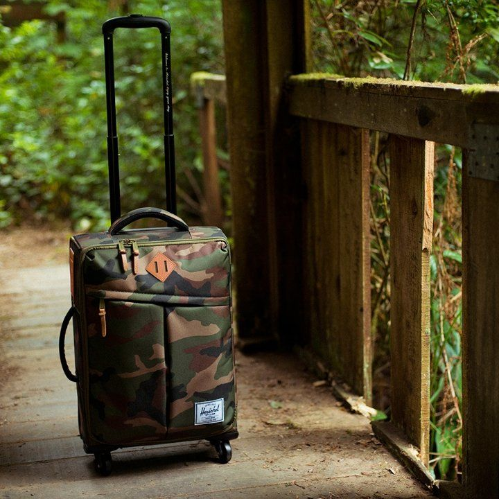 Woodland Camo Highlander Luggage by Herschel Supply Co.