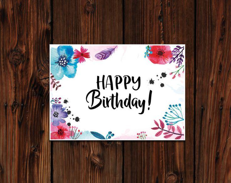 25+ einzigartige Handlettering geburtstag Ideen auf Pinterest | Geburtstagskarten, Birthday ...