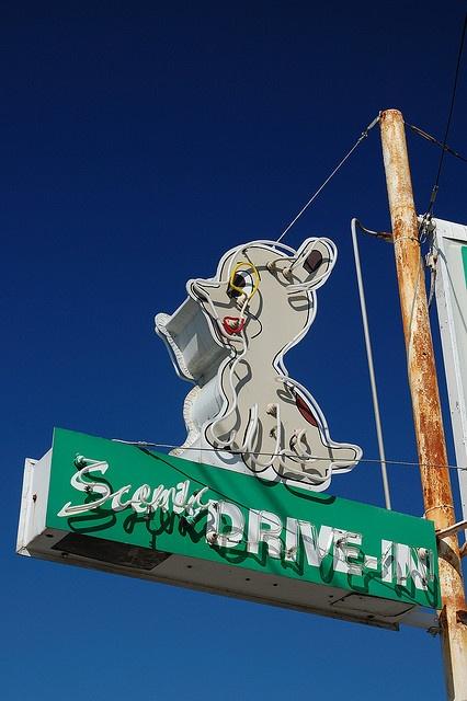 Scenic Drive-In by Tom Spaulding