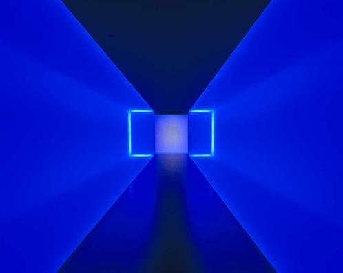 Museum of Fine Arts Houston -The Light Inside (James Turrell light tunnel)