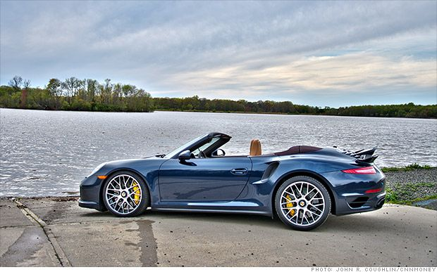 Porsche 911 Turbo S: Would look sexy driving this baby! We can take down the coast, top down..... mmmm