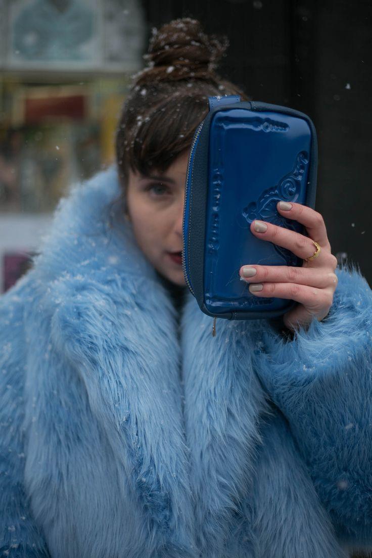 MeDusa bags - blue pouch by Messineo_Patrizia