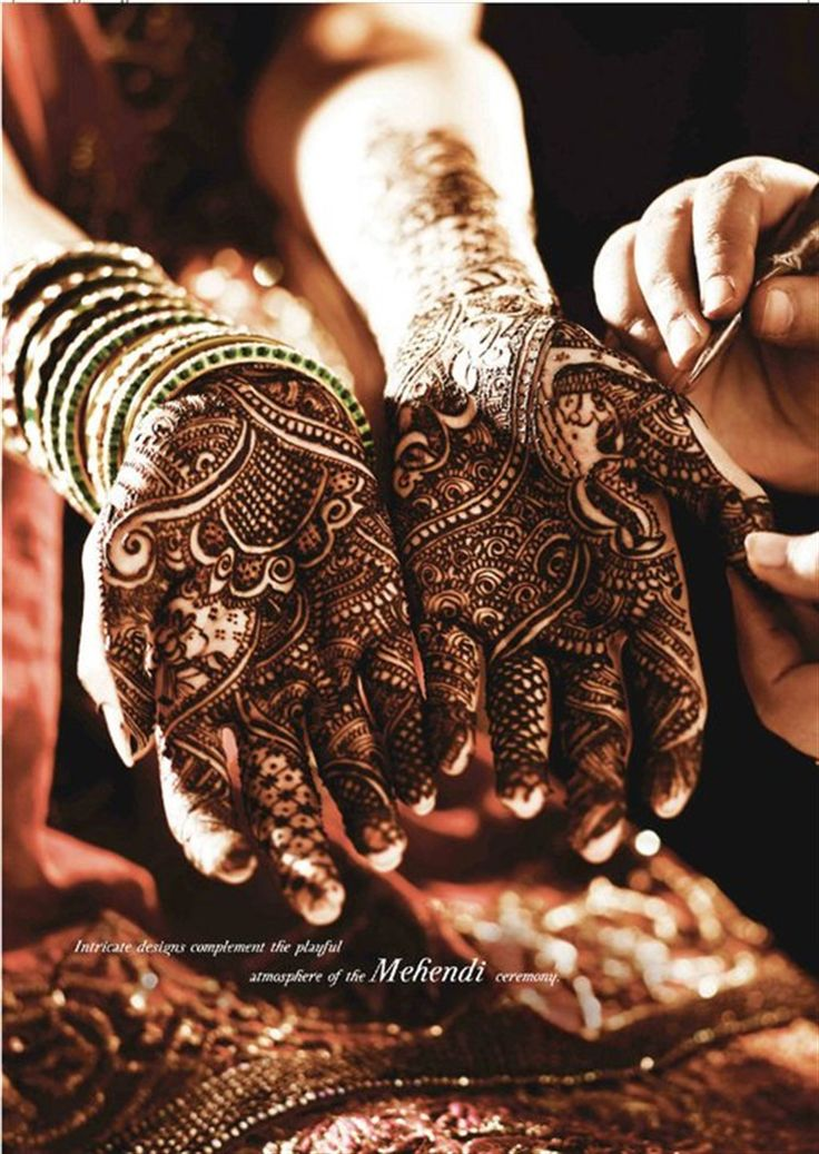 Tanishq Mehndi Hands Punjabi bride