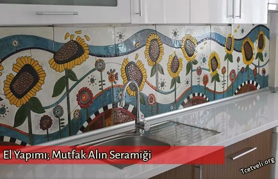 Mutfaklarınız için sıradanlaşan Duvar Kağıdı ve Alın Seramiği kaplamaları dışında özel olarak el yapımı ile üretilen; Beyaz duvar seramiği üzerine tasarımın işlenmesi ( Kabartma, Boya ve Fırınlama ) oluşan Dekorasyon örneklerine bakalım;