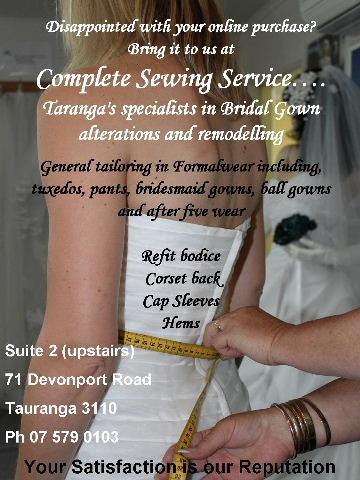 Complete Sewing Service -  Alterations