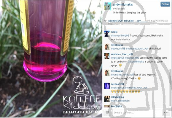 Chief Keef and Fredo Santana Tweakin and Sippin Lean With Andy Milonakis | Welcome to Kollegekidd.com