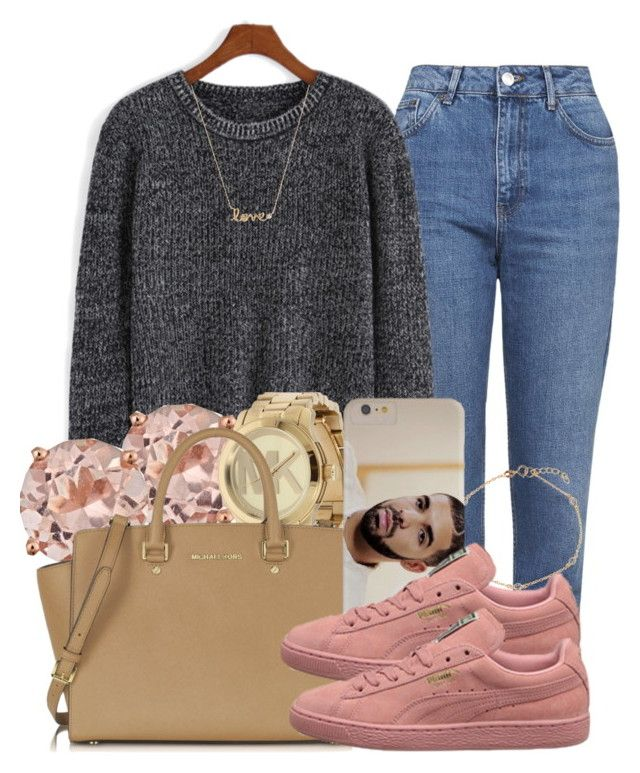"""""""Homie"""" by jjaysuave ❤ liked on Polyvore featuring Topshop, Michael Kors, BERRICLE and Case-Mate"""