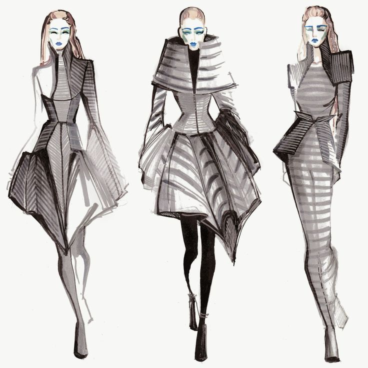 M Lique Street Inspired By Gareth Pugh Fashion