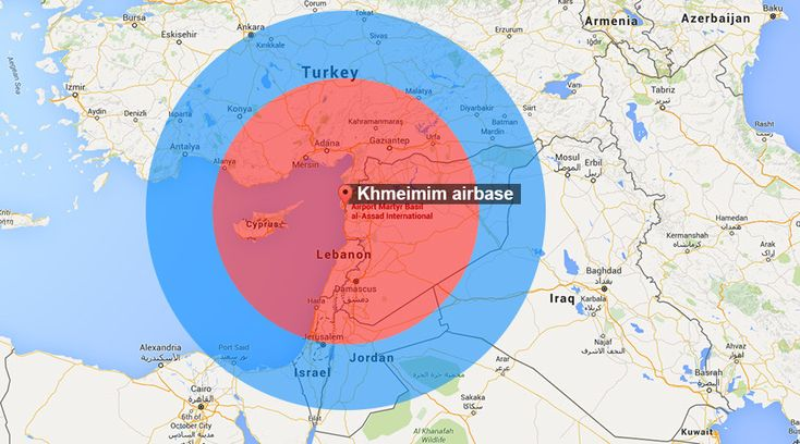 Russian S-400 missiles turn most of Syria into no-fly zone, halt US air strikes