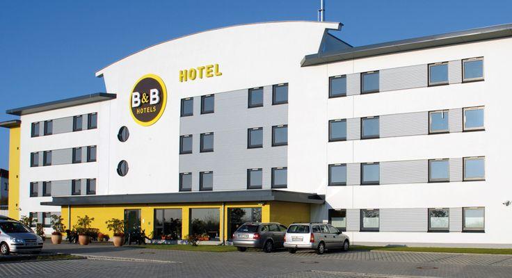 Außenansicht des B&B Hotels #Erlangen