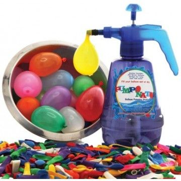 Pumponator Water Balloon Station. Summertime fun for all the family. #entropywishlist #pintowin