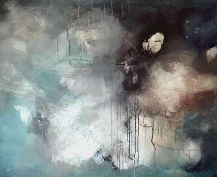 BIG Painting - title: Shadows  120 x 150