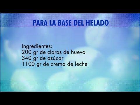 Helado Casero - Repostera Juliana Álvarez   La Sartén por el Mango