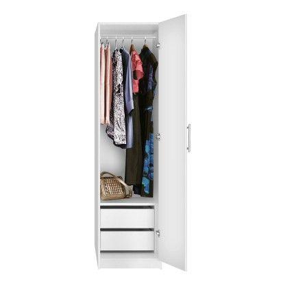 Alta Narrow Wardrobe Closet