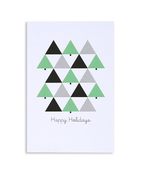 geometric trees pattern