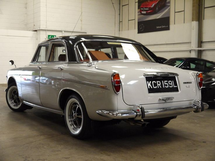 1972 Rover P5B 3.5 Saloon Actor Paul McGann has a beautiful one of this model.