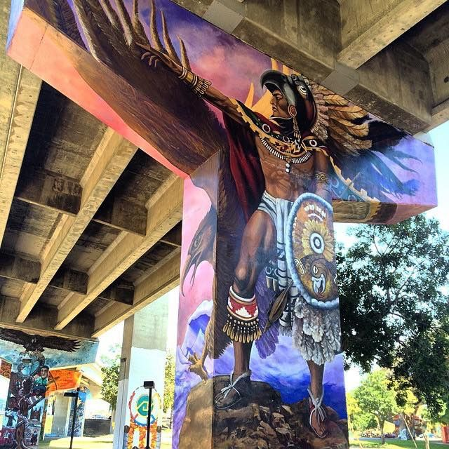Chicano park san diego my heritage my pride for Chicano mural art