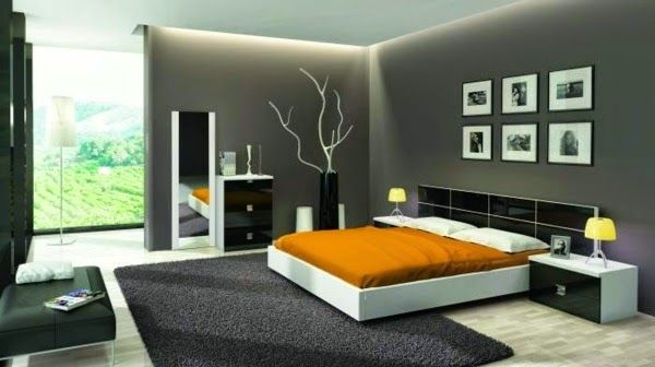 False Ceiling Led Lights: Bedroom With Built In LED Ceiling System
