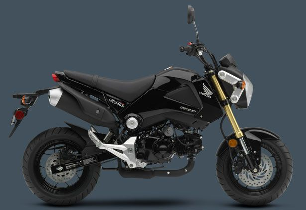 Honda Grom motorcycle offers great speed and practicality, it's a new way to have fun for everyone who is old enough to have a license.