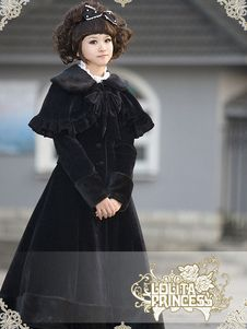 gothic lolita roupas de alta qualidade, sweet lolita casacos, lolita jaquetas…