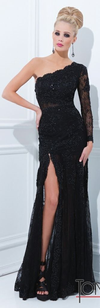 Tony Bowls Black Evenings #Gown