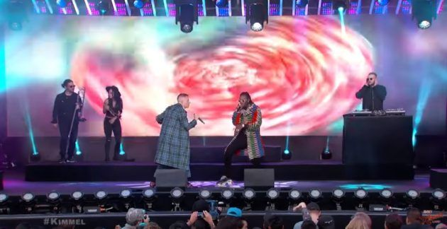 "Macklemore & Offset ""Willy Wonka"" On 'Jimmy Kimmel Live!' 