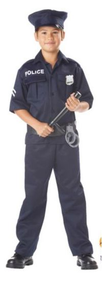 Police Costume for Boys