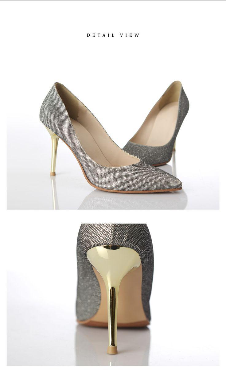 Light Silver Heels