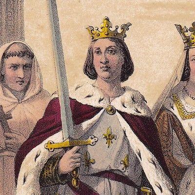 Roi-de-France-Saint-Louis-Louis-IX-Blanche-de-Castille-Croisades-Capetien