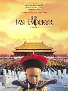 (1987) ~ John Lone, Joan Chen, Peter O'Toole. Director: Bernardo Bertolucci. Criterion. IMDB: 7.8 _______________________ http://en.wikipedia.org/wiki/The_Last_Emperor http://www.rottentomatoes.com/m/last_emperor http://www.metacritic.com/movie/the-last-emperor http://www.tcm.com/tcmdb/title/22177/The-Last-Emperor/ Article: http://www.tcm.com/tcmdb/title/22177/The-Last-Emperor/articles.html http://www.rogerebert.com/reviews/the-last-emperor-1987…