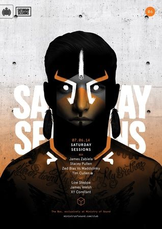Saturday Sessions: James Zabiela at Ministry of Sound, 103 Gaunt St, Elephant and Castle, London, SE1 6DP, Uk,On Saturday June 07, 2014 at 11:00 pm and ends Sunday June 08, 2014 at 7:00 am, James Zabiela heads a monster billing showcasing the best in house and techno, Facebook : http://atnd.it/11593-1 , Price:  From: £18, Category: Nightlife,Artists:  James Zabiela, Stacey Pullen, Zed Bias Vs Maddslinky, Tim Cullen, Low Steppa, James Welsh, XY Constant