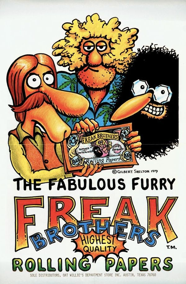 Freak Brothers Rolling Papers!