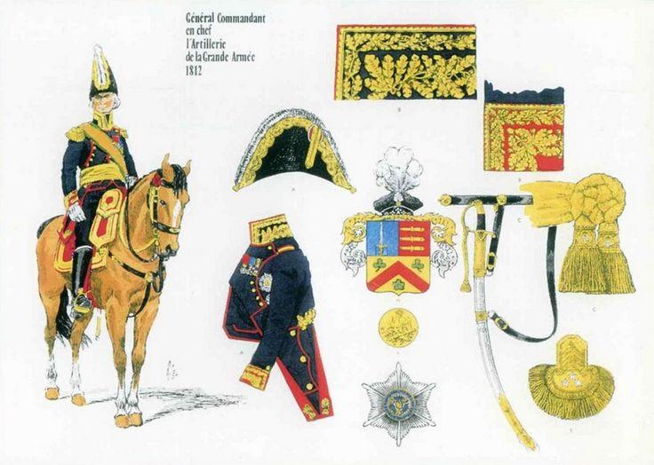 Jean Ambroise Baston comte de LARIBOISIERE, Général Commandant en Chef de l'Artillerie de la Grande Armée 1812