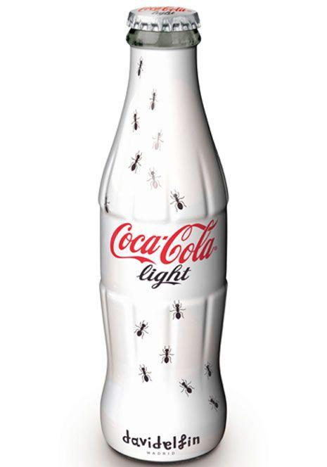 Diseño de David Delfín para #CocaCola #DavidDelfin #design #creative #brand #ads #bottle #CocaColaLight #Coke