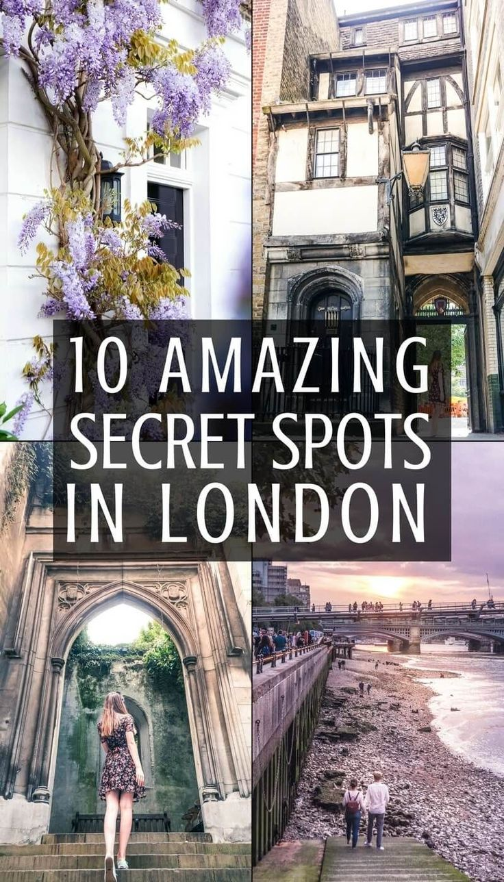 10 Quirky, Hidden and Secret Spots in London You'll Love