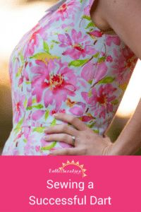 How to Sew a Successful Dart on a Sewing Machine - Bella Sunshine Designs - This is the best sewing tutorial! I've always wanted to know how to do this.  Pin for later!