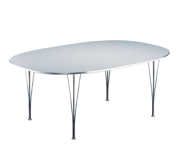 Superellips B616 dinner table from Fritz Hansen. Design by Piet Hein & Bruno Mathsson. #table #classics
