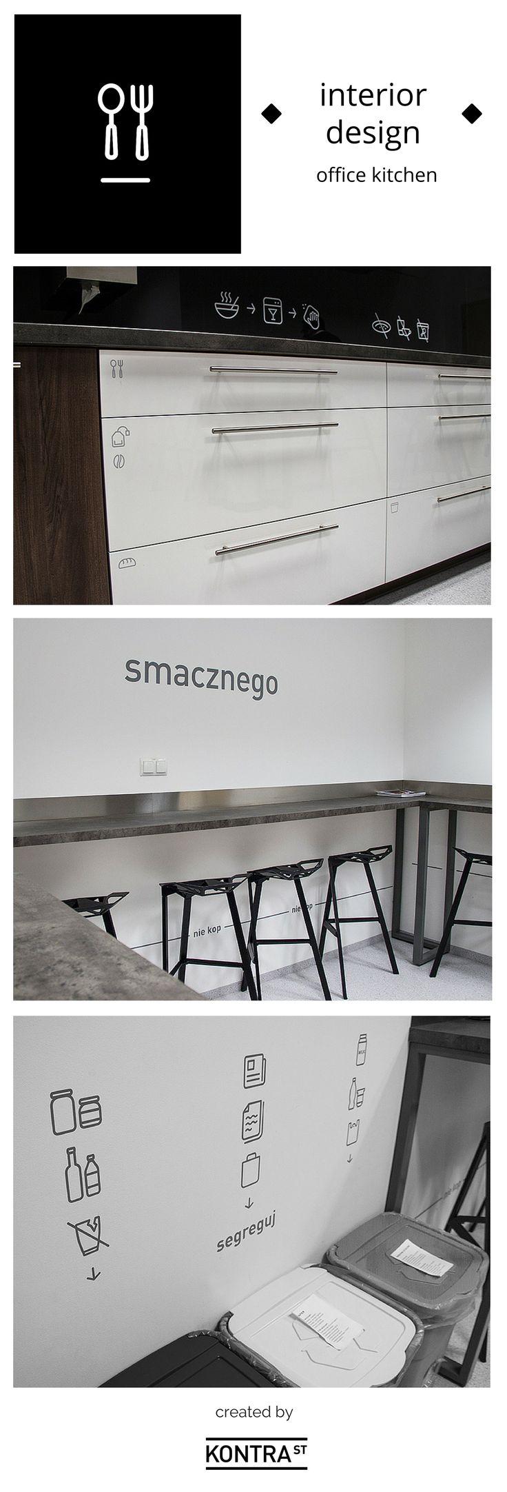 Office kitchen interior design - Employer Branding