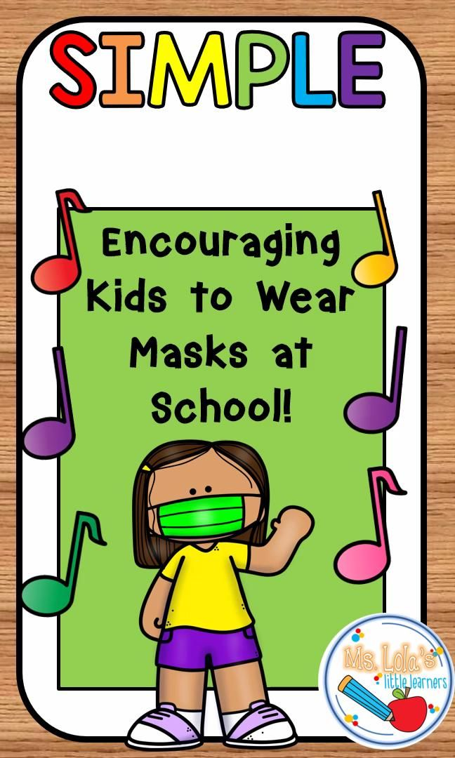 Songs for encouraging little learners to WEAR MASKS [Video