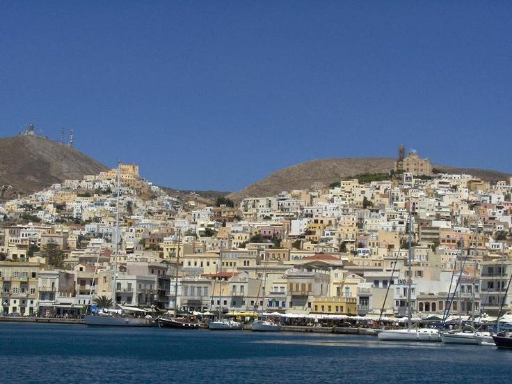 Ermoupoli of Syros island, Cyclades.