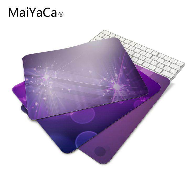 Purple Back_1 Desktop Anti-Slip Mat Rubber Mouse Pad 22*18cm and 25*29cm