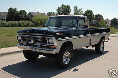 1972 F 250 High Boy Ford Trucks Ford Trucks Trucks