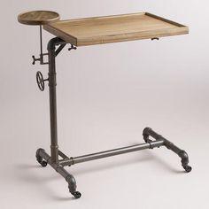 Would this work for Steve's sit stand desk? WorldMarket.com: Adjustable Laptop Table