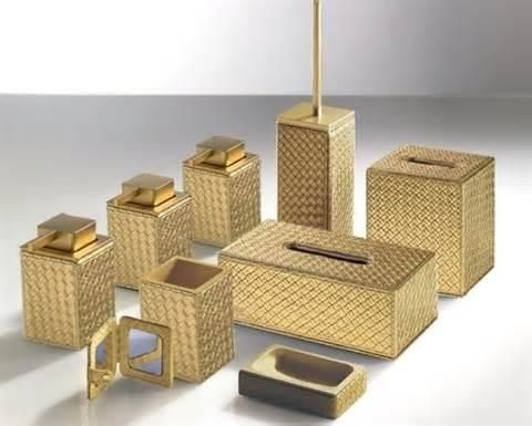 17 best ideas about gold bathroom accessories on pinterest - Modern bathroom accessories sets ...
