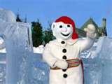 Le Bonhomme de Neige! Quebec Winter Carnival, Quebec City, Quebec