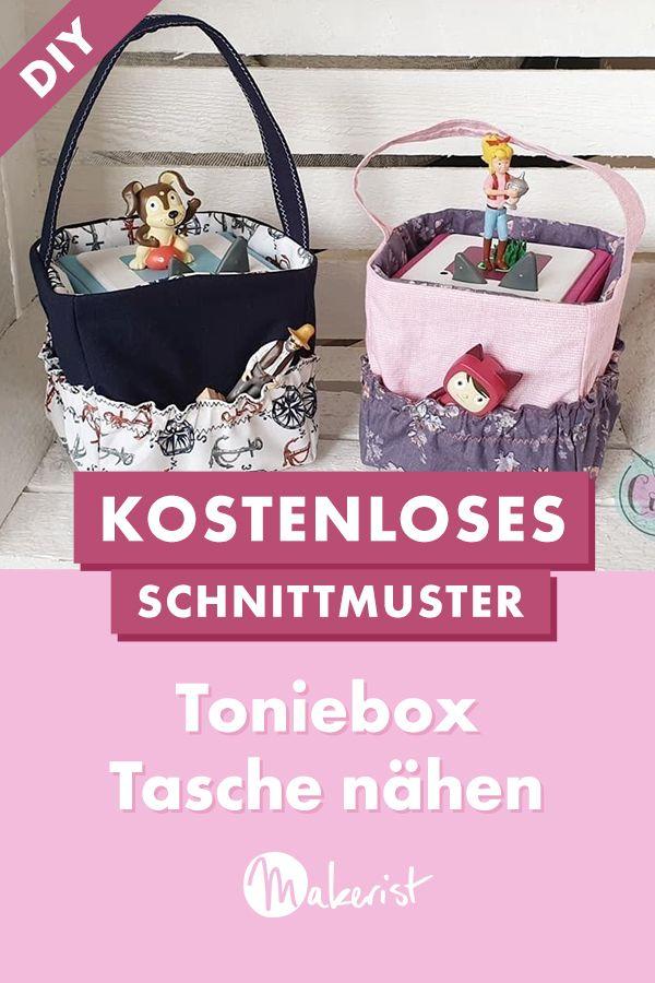 "Toniebox Tasche ""Troxi"" in 2020 | Kostenlose schnittmuster ..."