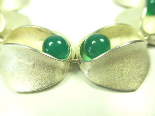 Designer-Armband-925-Sterling-Silber-Edelstein-Kugeln-beweglich-silver-bracelet