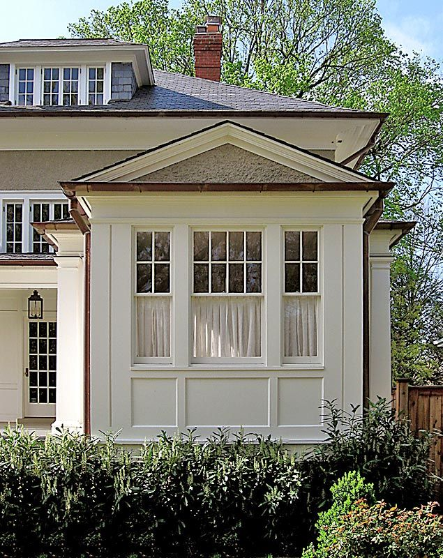 Anne decker architects selected works renovations for What to put in front of a bay window
