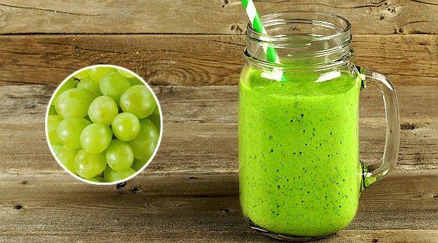 Suco de uva verde emagrece, elimina inchaço e combate o câncer; saiba preparar - Bolsa de Mulher