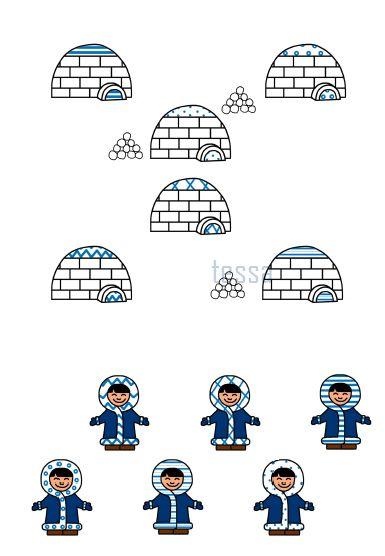 patronen combineren - winter - wiskundig inzicht